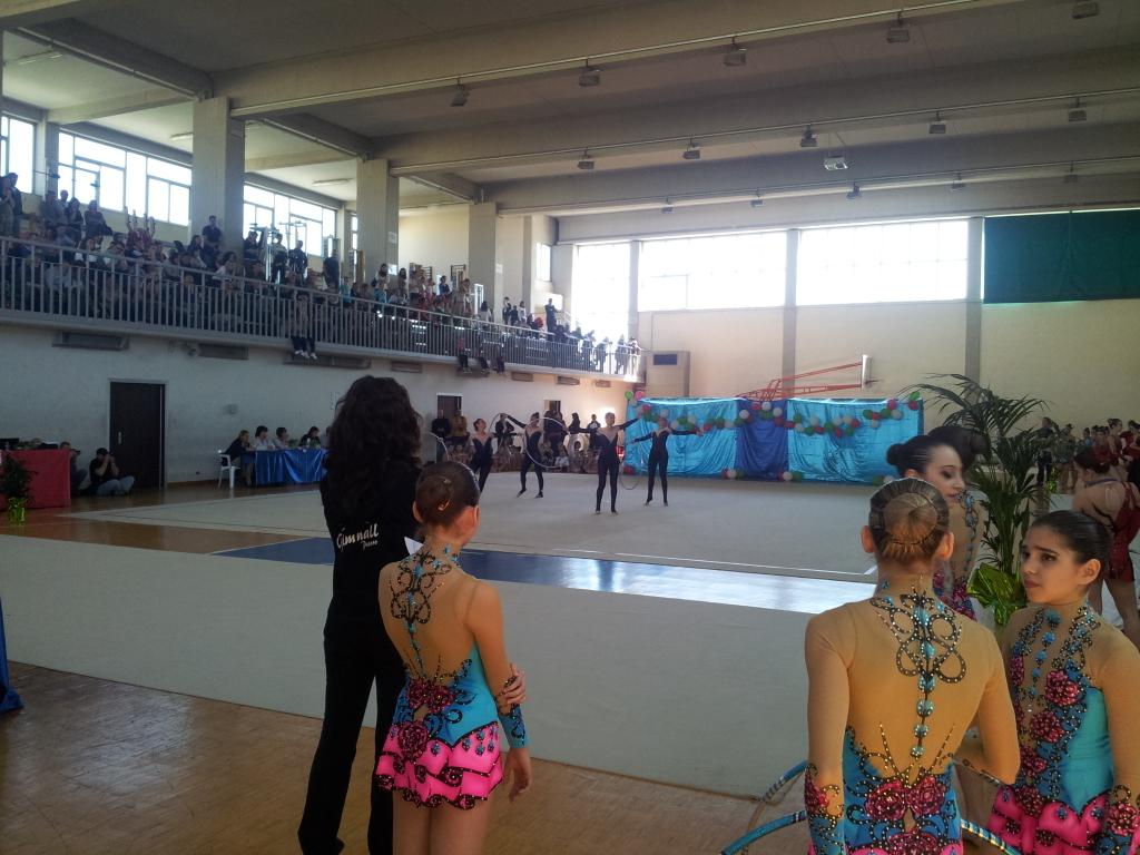 """La coppa di ginnastica ritmica alla palestra dell'Itc """"Capriotti"""""""