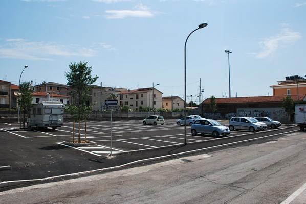 E' stato aperto il piazzale ex Start in via Calatafimi