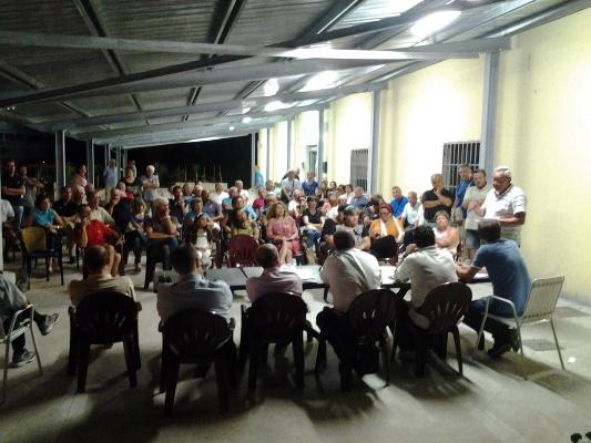 L'assemblea della Giunta con i quartieri Europa e Ragnola