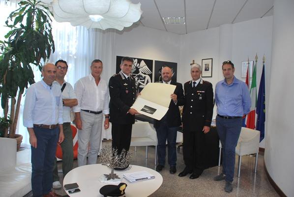 L'incontro con il colonnello Alessandro Patrizio