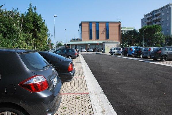 Il nuovo parcheggio di via Togliatti