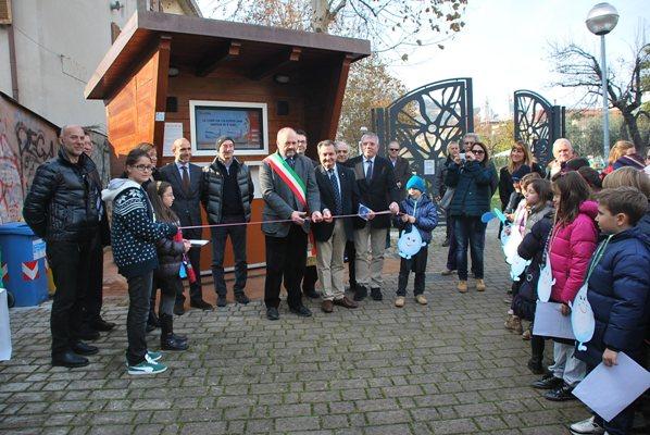 Alcuni scatti dell'inaugurazione delle Case dell'Acqua