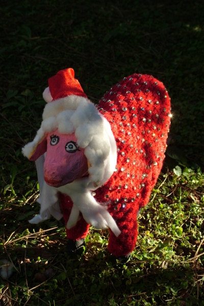 una pecorella del Presepe UNESCO