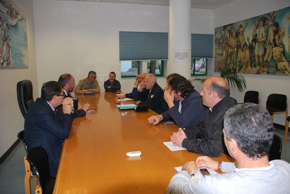 La riunione del tavolo tecnico presieduta da Gaspari e Sestri