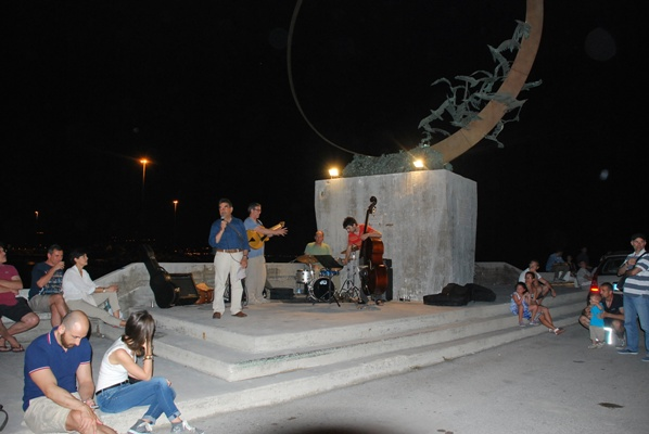 Alcuni momenti del concerto jazz