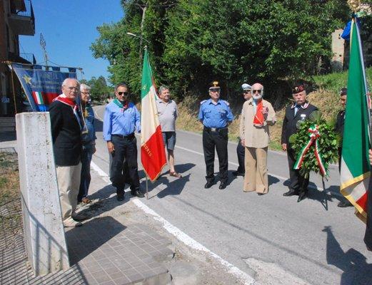 Alcuni momenti della commemorazione al Ponterotto