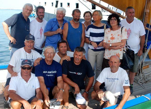 Le barche di Cesenatico al porto di San Benedetto