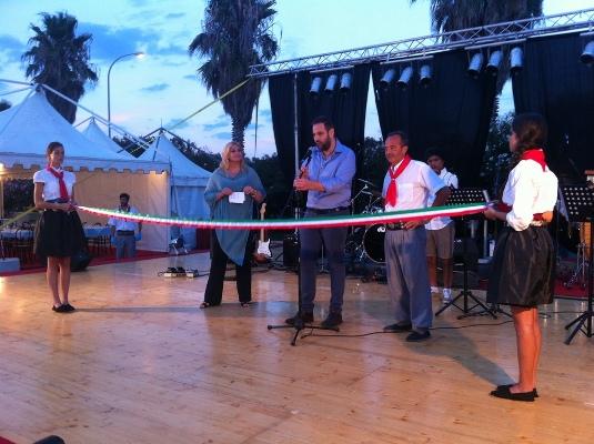 Alcune foto dell'inaugurazione del Festival