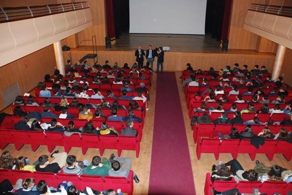 Alcune foto dell'iniziativa al Teatro Concordia