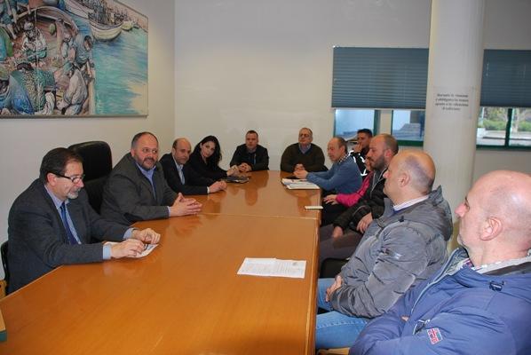 La task force di intervento in caso di maltempo riunita in Municipio
