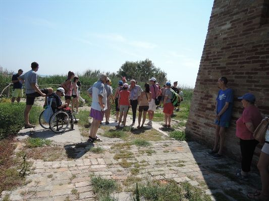 Alcuni scatti della visita guidata in Riserva dei ragazzi dell'Anffas
