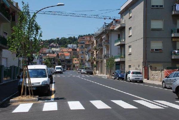 Le riqualificate vie Ferri e Manzoni