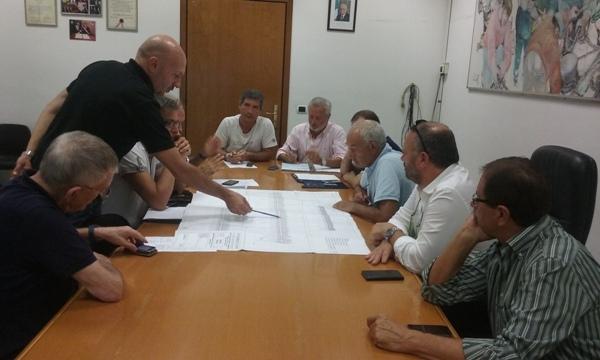 Un momento della riunione CIIP - Comune
