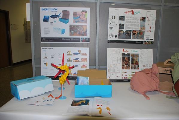 Alcune immagini della presentazione dei prototipi di design per il Museo del Mare