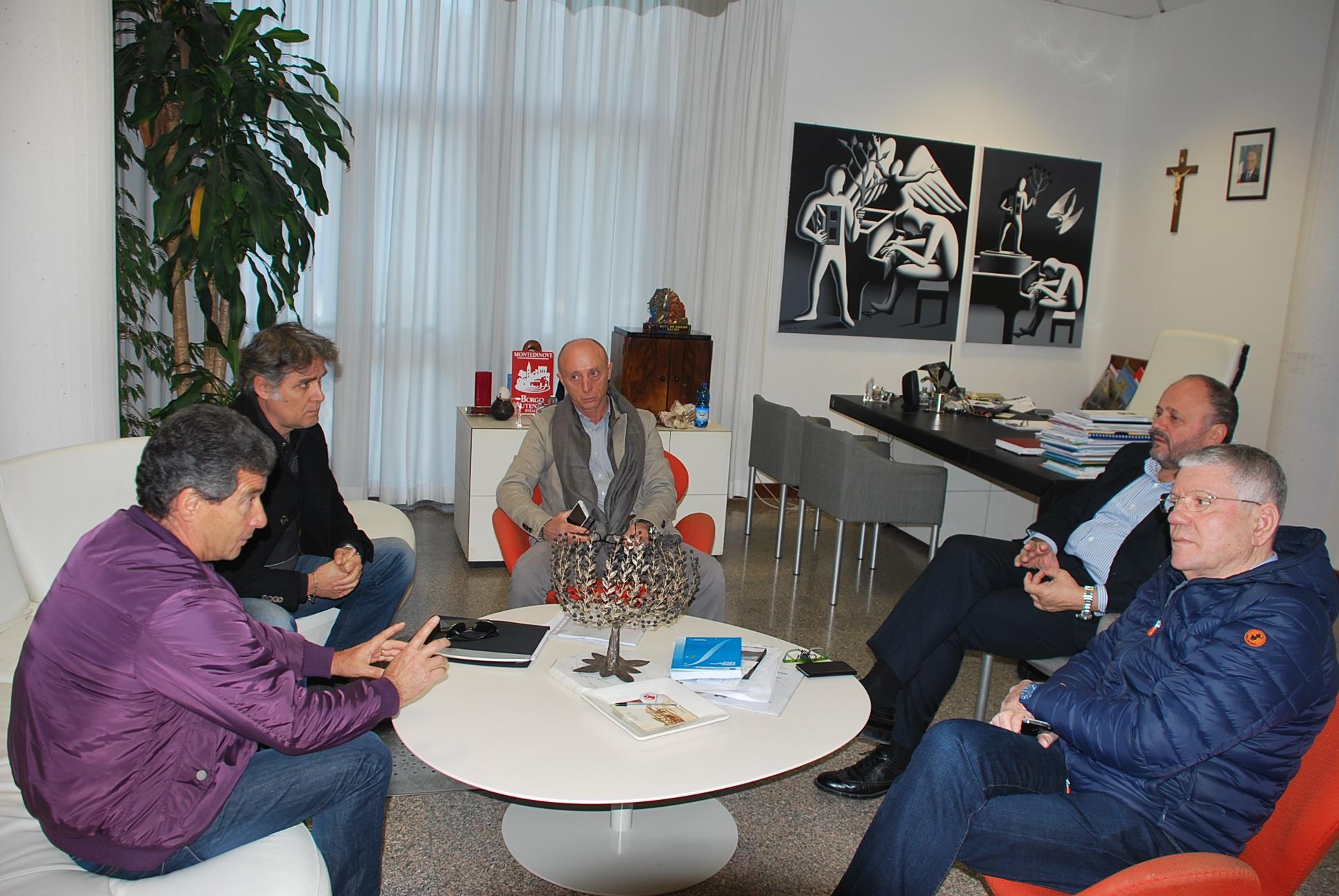 L'incontro tra Amministrazione, CIIP e ditta esecutrice dei lavori di piazza San Giovanni