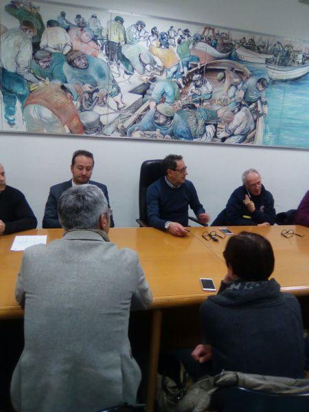 La riunione con tecnici e dirigenti scolastici