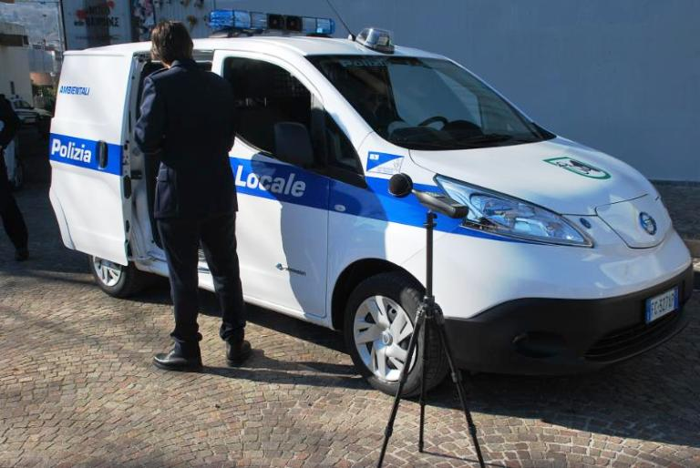 Il nuovo veicolo elettrico per i controlli ambientali