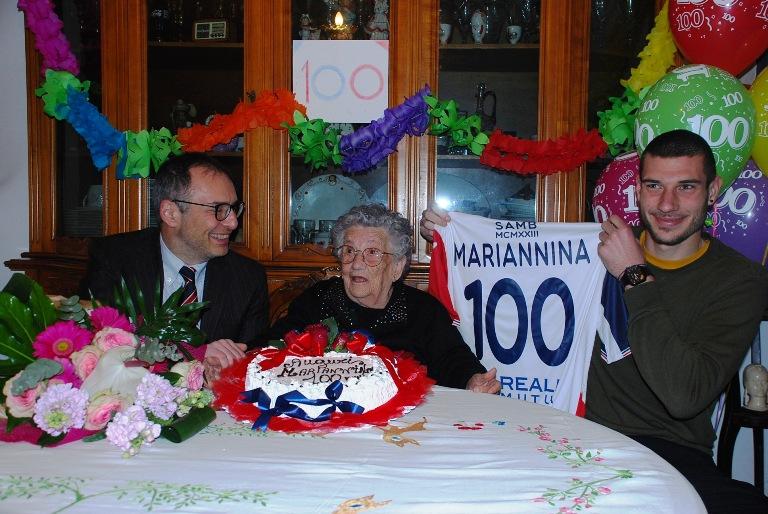 Lo speciale compleanno della signora Marianna Girolami