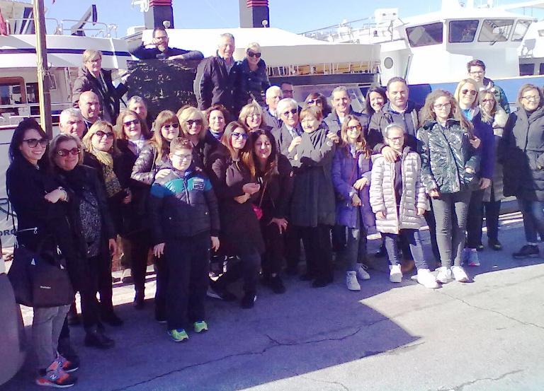 La delegazione sambenedettese a Viareggio