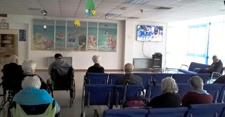 """Il nuovo televisore al """"Primavera"""""""