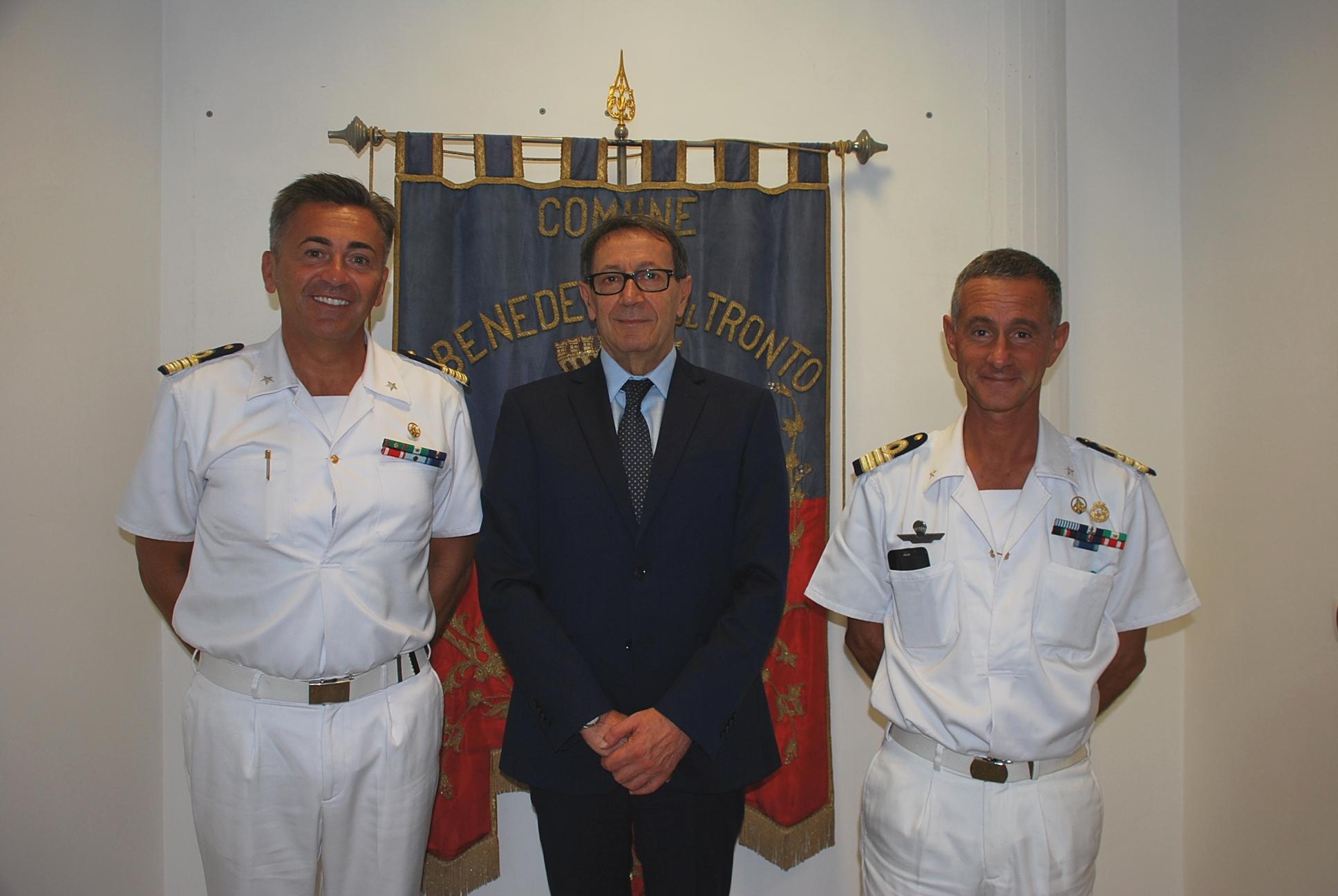 La visita del nuovo comandante della Capitaneria di Porto