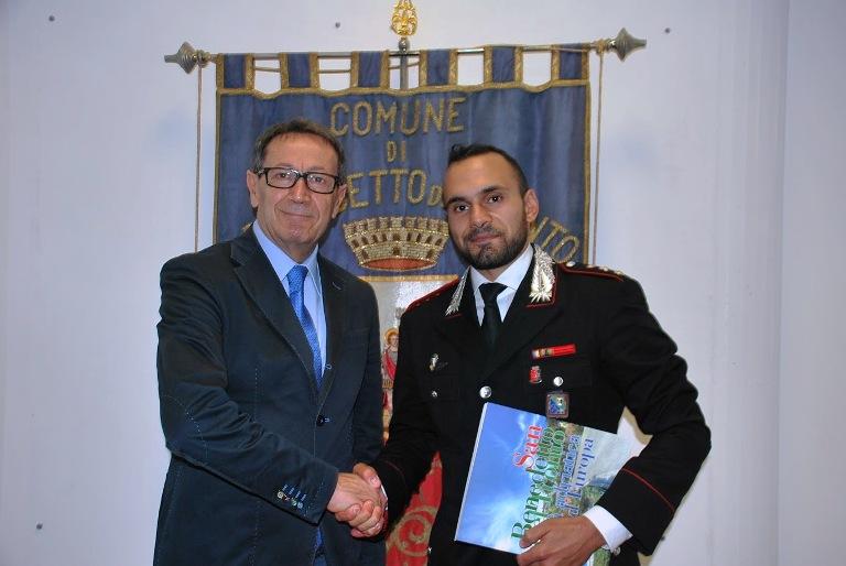 La visita del nuovo comandante dei Carabinieri