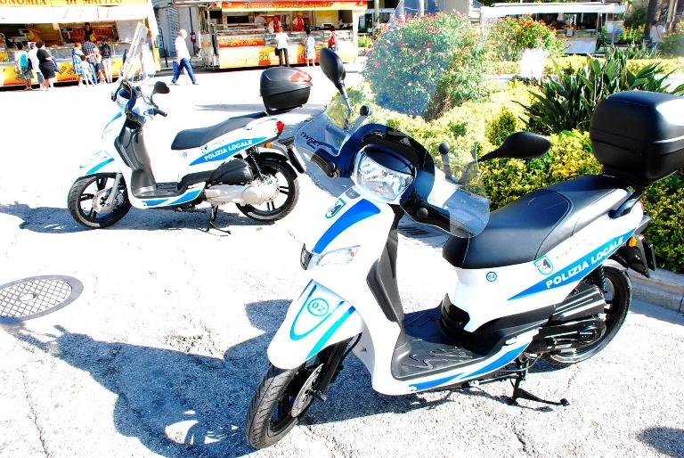 I nuovi mezzi in dotazione alla Polizia Municipale