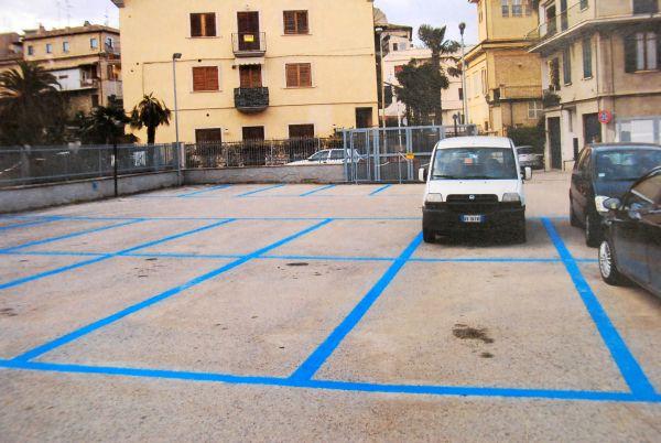 I nuovi parcheggi dell'area Malavolta