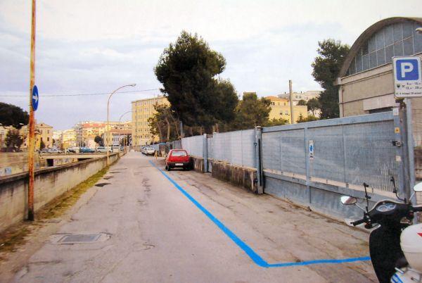 I parcheggi di via Tonale