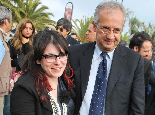 Walter Veltroni con Roberta Peci