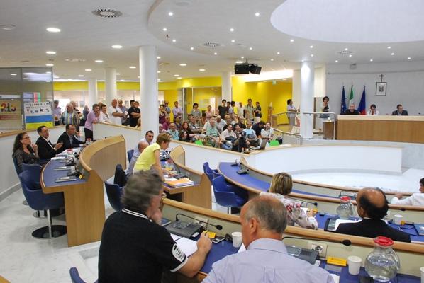 Un momento del Consiglio Comunale di giovedì 7 luglio 2011