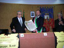 Il conferimento del Premio al Prof. Lupi nel 2006