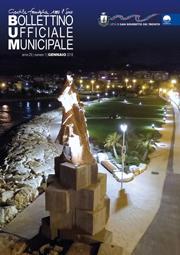 Bollettino Ufficiale Municipale | copertina di gennaio