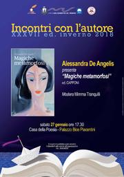 Incontri con l'autore | Alessandra De Angelis