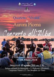 Concerto all'Alba   15 agosto 2018