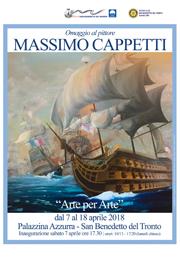 Omaggio al pittore Massimo Cappetti