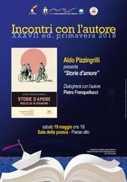 Incontri con l'autore   Aldo Pizzingrilli