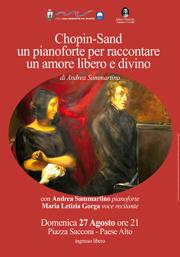 Chopin-Sand un pianoforte per raccontare un amore libero e divino