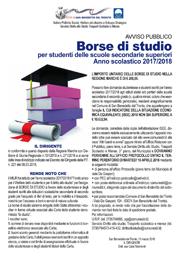 Avviso pubblico | Borse di studio