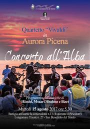 Concerto all'alba | 15 agosto 2017