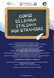 Coesi di lingua italiana per stranieri