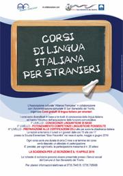 Cirsi di lingua per stranieri