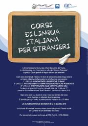 Corsi di lingua italiana per stranieri