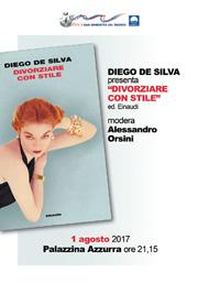 """Diego De Silva presenta """"Divorziare con stile"""""""