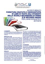 Fornitura libri di testo 2017/2018