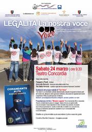 Legalità, la nostra voce