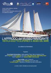 L'approdo del Museo navigante