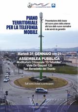 Piano territoriale per la telefonia mobile | Assemblea pubblica