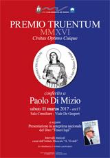 Paolo Di Mizio | Premio Truentum MMXVI