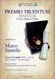 Premio Truentum | Marco Santello